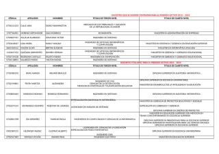 Titulo Docentes-Materias.xls