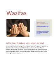 Solve Your Problems with Adawat Ka Amal.pdf