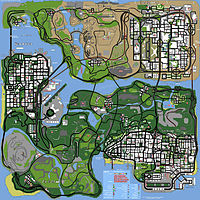 gta 3 map. gta san andreas map icons III
