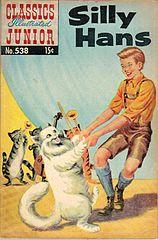 classics illustrated junior #538 silly hans.cbr