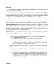 Resumo - Extrusão.doc
