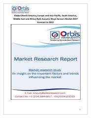 Global (North America, Europe and Asia-Pacific, South America, Middle East and Africa) Bulk Acoustic Wave Sensors Market 2017 Forecast to 2022.pdf