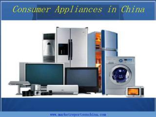 Consumer Appliances in China.PDF