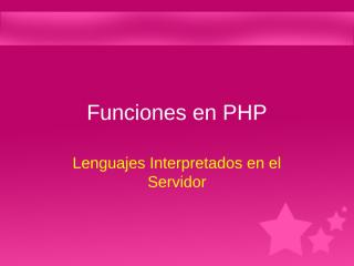 Clase 05 - Funciones.ppt