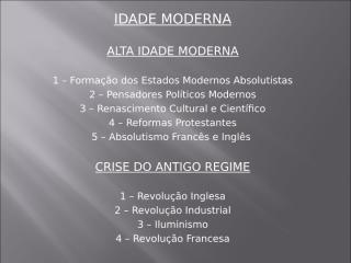 2a Revolução Industrial e Modernismo.ppt
