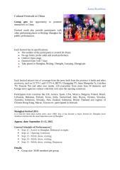 China Festivals offer short.docx