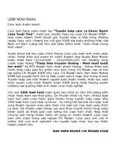 loi bai hat viet nam - 1000 lyrics.doc