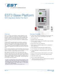 85010-0145 -- EST3 Base Platform, Fire Alarm.pdf