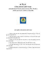 Dieu le Cong doan Viet Nam.doc