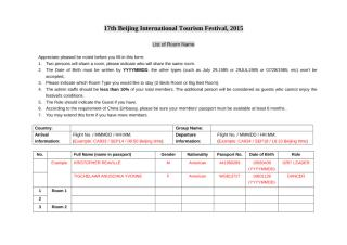 Form of Name List - 17th Beijing International Tourism Festival, 2015.doc