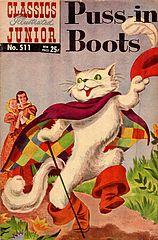 Classics Illustrated Junior #511 Puss In Boots.cbz