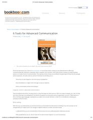 6 Tools for Advanced Communication.pdf