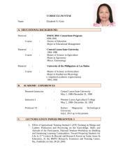 Curriculum Vitae  beth revised.doc