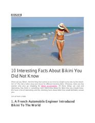 10 Interesting Facts About Bikini You Did Not Know.pdf