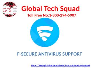 F-Secure Antivirus Support (1).pptx
