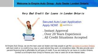 Car Loan in London Ontario.pdf