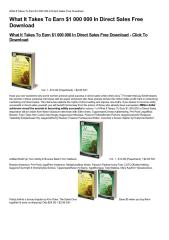 What-It-Takes-To-Earn-1-000-000-In-Direct-Sales-Free-Download.pdf