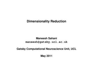 Dimensionality Reduction may 2011.pdf